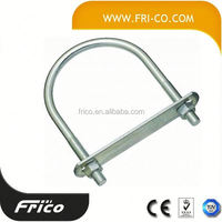 Non-Standard Bended U Bolts And Nut 8.8