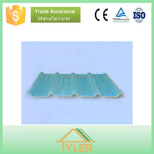 corrugated FRP /Light weight translucent roofing shingles