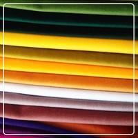 100% polyester warp knitting panne velvet fabric