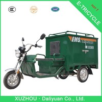 electric tricycle safe low price mail truck for sale
