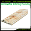 High Quality ECO-friendly Faux Marble Mouldings Artificial Stone Skirting Border Line