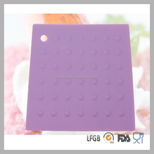 Customized Color Wholesale Cookware Cooking Gadgets Silicone Pot Mat