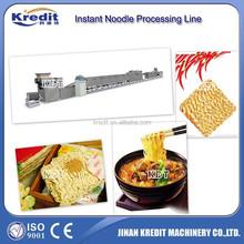 Hollow noodle extruding machine/instant cup noodle machine