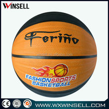 Top seller popular official high quality rubber basketball