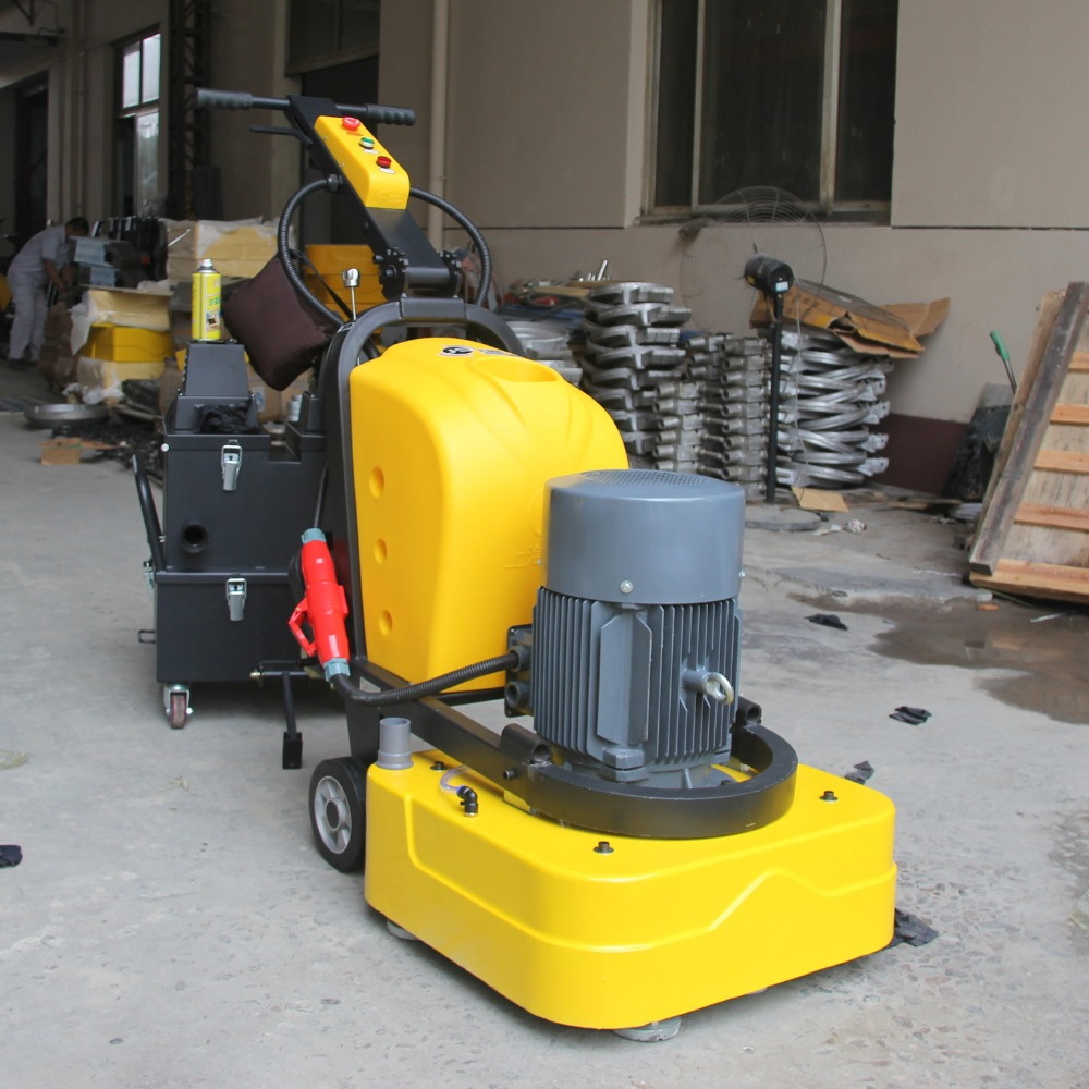 Terrazzo polishing cement concrete floor grinding machine for Floor grinding machine