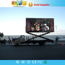 CIRID 2015 Electronic led truck, Electronic moving advertisement car, energy-saving display vehicle
