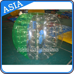 Loopy Ball With Number Sticked Playing In Grass / PVC Color Inflatable Bubble Soccer Bumper Ball