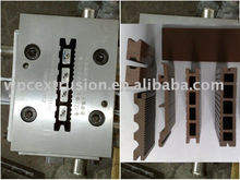 WPC extrusion moulds dies tooling for WPC hollow decking
