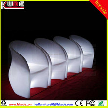LED furniture lighting LED light up bar lounge chair for night club