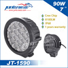 2015 new products hotsale 90W 10320LM 12v led driving light, 7inch led driving light of car accessories