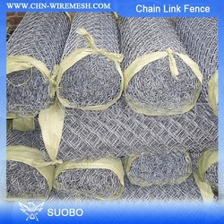 SUOBO Chain Link Fence Locks Chain Link Fence Cage Cheap Chain Link Dog Kennel
