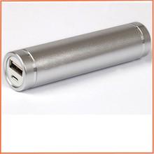 Tube cylinder shape smart metal mobile power bank for tiger brand