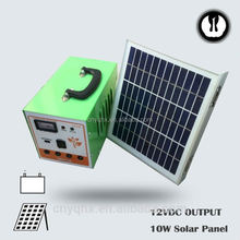 DC energy portable emergency controller usa camping solar light for house use with mobile charger with battery
