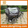 new coffee tricycle three wheel motorized cargo trikes/family cargo bikes china with high quality
