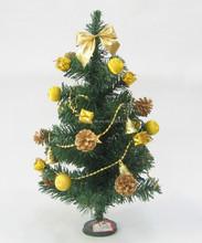Artifical fashion mini X'mas christmas tree decorations