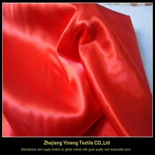 100% polyester woven cheap printing satin fabric at price