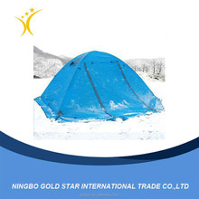 Outdoor camping tent camping tents, double double aluminum rod against the heavy rain outside Camping supplies wholesale