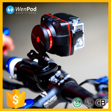 Wenpod X1+ high quality mini car gimbal for gopro and cellphone
