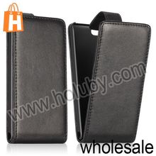 Wholesale OEM Classic Style Vertical Flip Leather Case for Huawei Ascend P6 Mini Full Cover Case