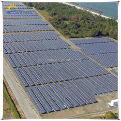 2015 high quality solar panel mounting racks