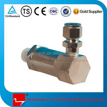Cryogenic excess flow valve&variable flower control valve