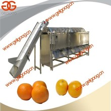 Factory Price Orange Cleaning and Sorting Machine |Orange Use Grading Machine Price
