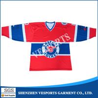 wholesale customized brand ice hockey jersey