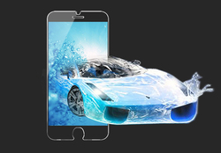 """OTAO factory high quality screen guard cover 0.15MMsuper slim tempered glass screen protector with design for iPhone 6 plus 5.5"""""""