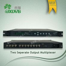Excellent Quality Digital TV System Satelite or AV Signals Multiplexer