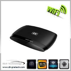 android 4.4 xbmc amlogic S812 quad core smart set top tv box
