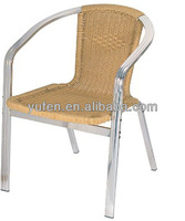 outdoor high back wicker rattan chairs