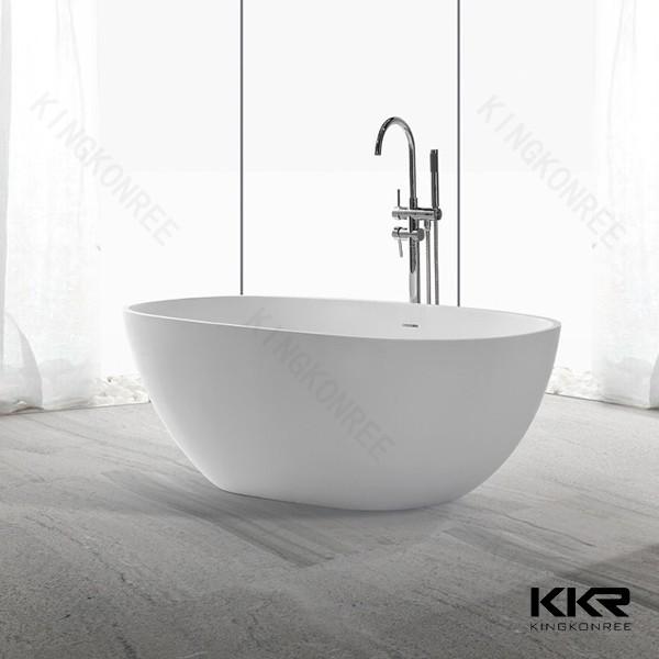baignoire 120cms longues autoportante baignoire ronde surface solide acrylique baignoire. Black Bedroom Furniture Sets. Home Design Ideas