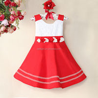 Christmas Children's Dress Fashion Kids Girls Dresses 10 Year Old Girl Model Red GD40225-4