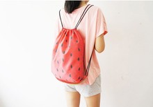 2015 Best Selling Plain Travel Bag Drawstring Bag