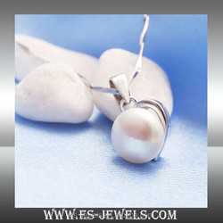 fashion jewelry pearl necklaces for ladies