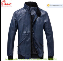 Good Quality Denim Jacket For Men With Long Sleeve Leather Jacket