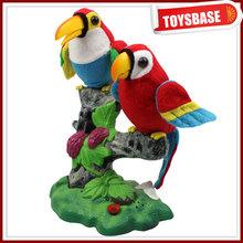 Hablar canto del pájaro del juguete para los niños