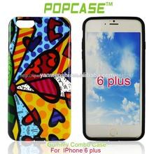 silicon cover para iphone 6 plus