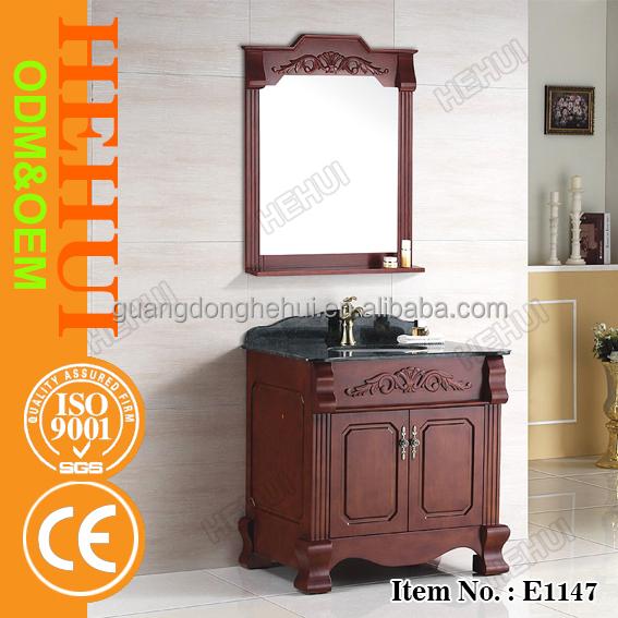 yy b326 antique bathroom vanity and colorful bathroom