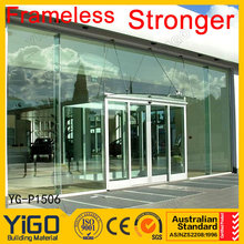 point supported structural glass curtain wall / glass decoration curtain wall / exterior glass curtain wall