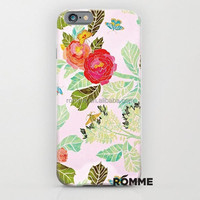 2015 new designer flower pattern phone case for apple iphone 6 the PC hard case for iphone6 factory supply directly