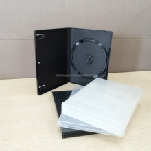 wholesale 14mm plastic box CD DVD case with cover insert printing