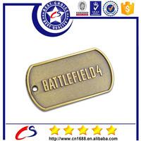 hot sale Wholesale Custom Made Cheap Army Metal Military USA Dog Tags