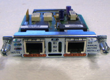 VIC2-2BRI-NT/TE Used CISCO 2-port voice module for router