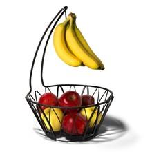 Metal Bowl Shape Mango Fruit Baskets