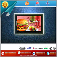 15inch transparent lcd, Wall Mounted activated LCD Display