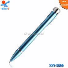 sky blue cute advertising plastic pen