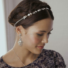 Wholesale crystal bridal headband for women