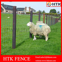 high tensile galvanized cattle mesh fence/filed fence /cow fence