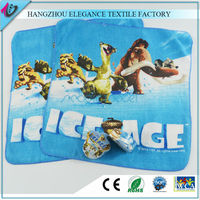 100%cotton terry magic compressed travel face towels/cute mini cheap kids gift washclothes
